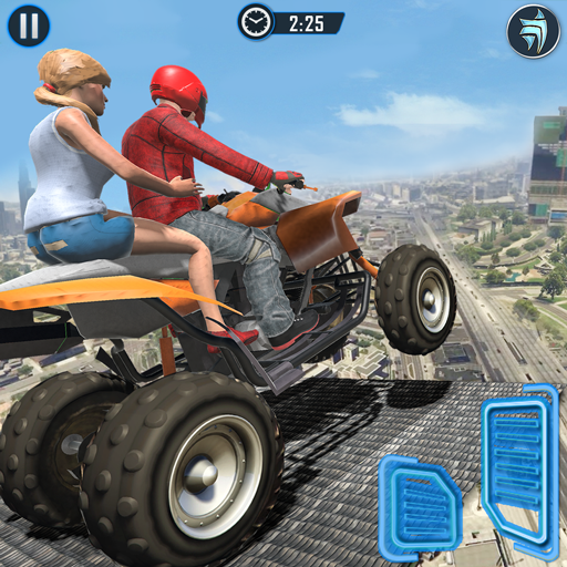 ATV Quad Bike Simulator 2018: Bike Taxi Games