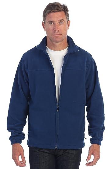 0668a9b34 Gioberti Mens Full Zip Polar Fleece Jacket