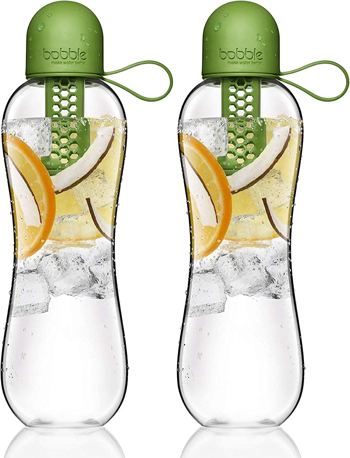 2 PACK bobble Plus Water Filtration//Infusion Citron