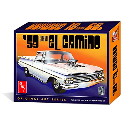 AMT 1058/12 1/25 1959 Chevy El Camino Original Art Series: Toys & Games