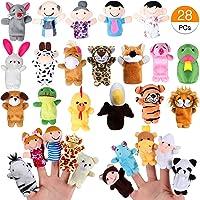 Joinfun Marionetas de Dedo 22pcs Cartoon Animal Hand