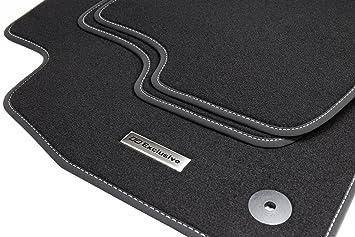 Premium Fußmatten Audi A6 S6 4G Quattro RS6 Doppelnaht Velour Automatte 4-teilig