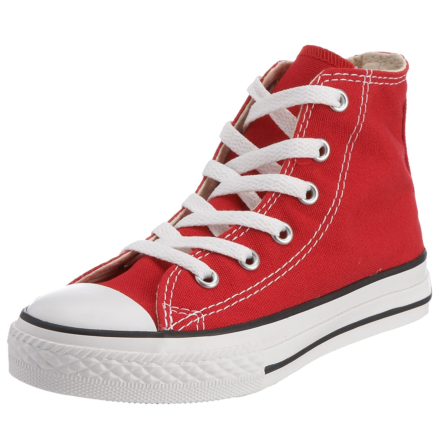converse youth size 6. amazon.com | converse kids chuck taylor classic hi red sneaker - 13.5 fitness \u0026 cross-training youth size 6 h