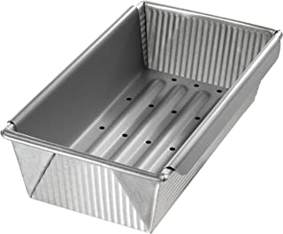 product image for USA Pan Bakeware Aluminized Steel Meat Loaf Pan with Insert