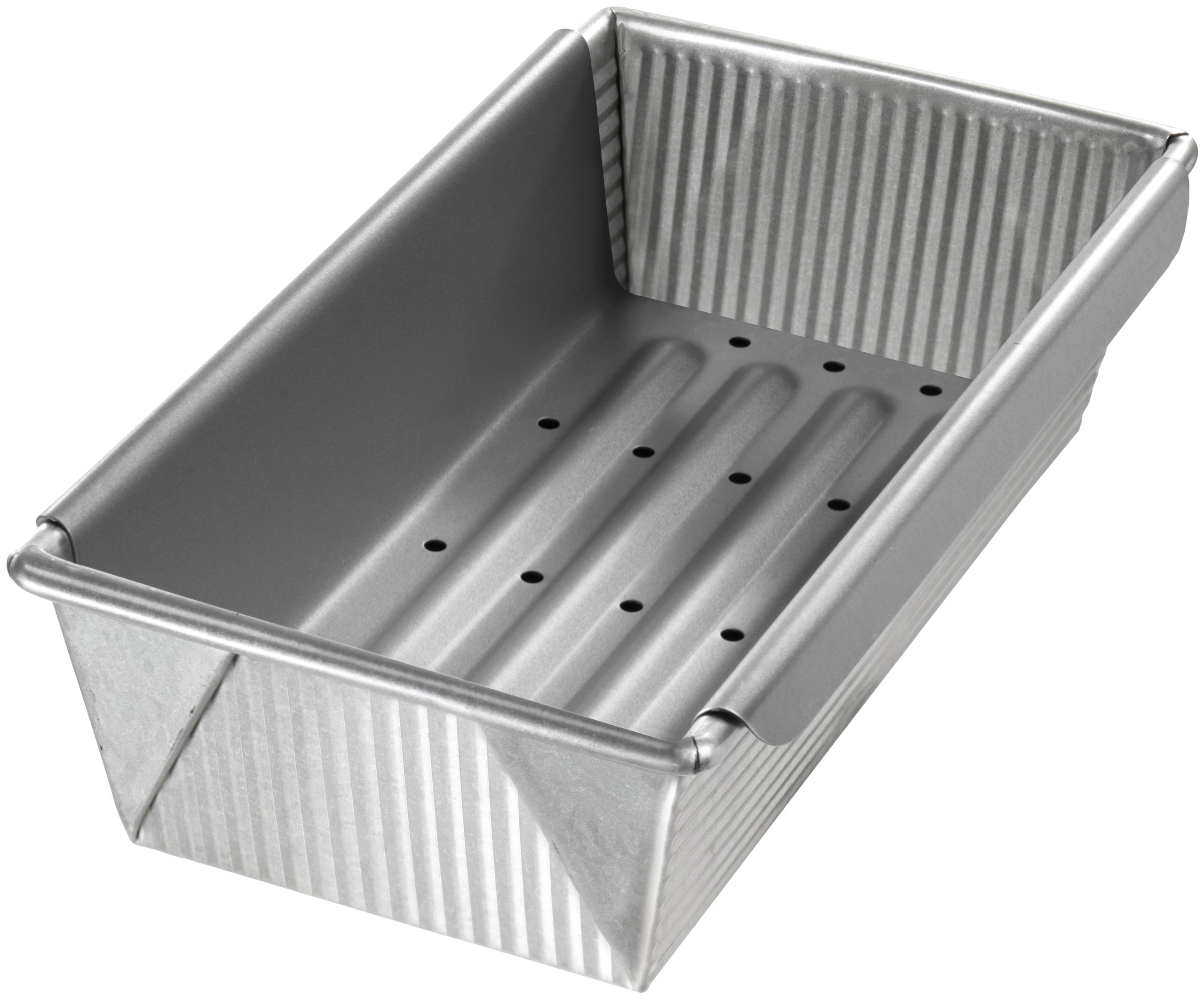 USA Pan Bakeware Aluminized Steel Meat Loaf Pan with Insert by USA Pan
