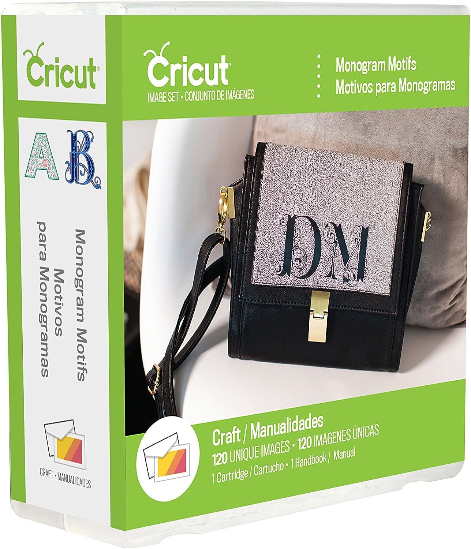 Amazon Com Cricut 2002932 Monogram Motifs Cartridge