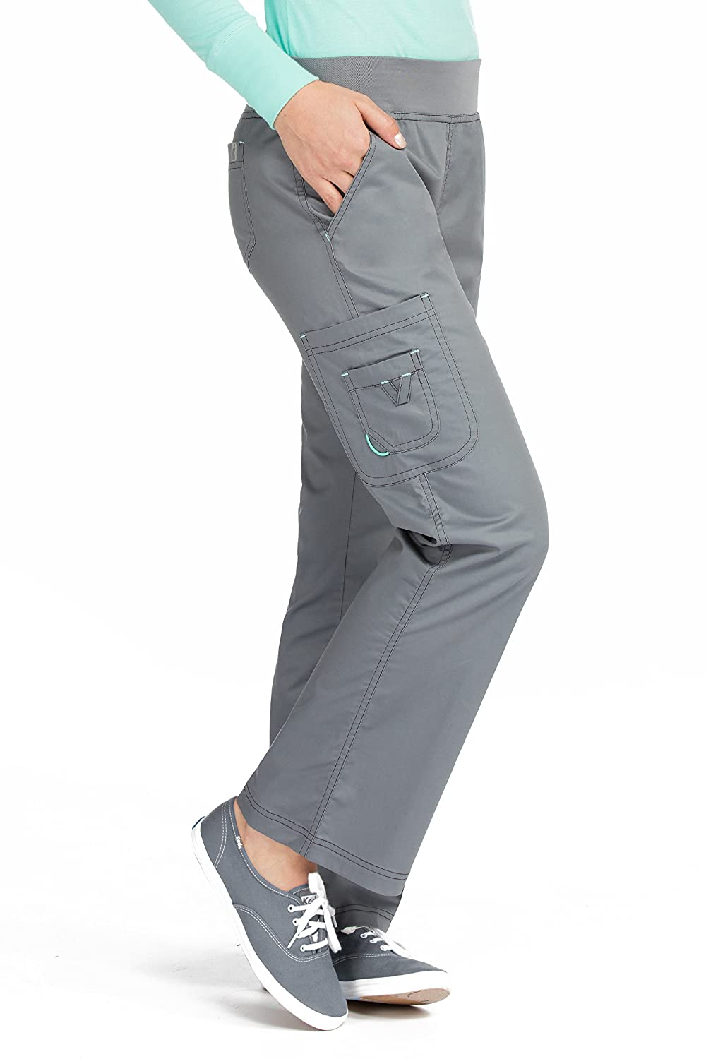 Med Couture Womens Scrub Bottoms Image 2