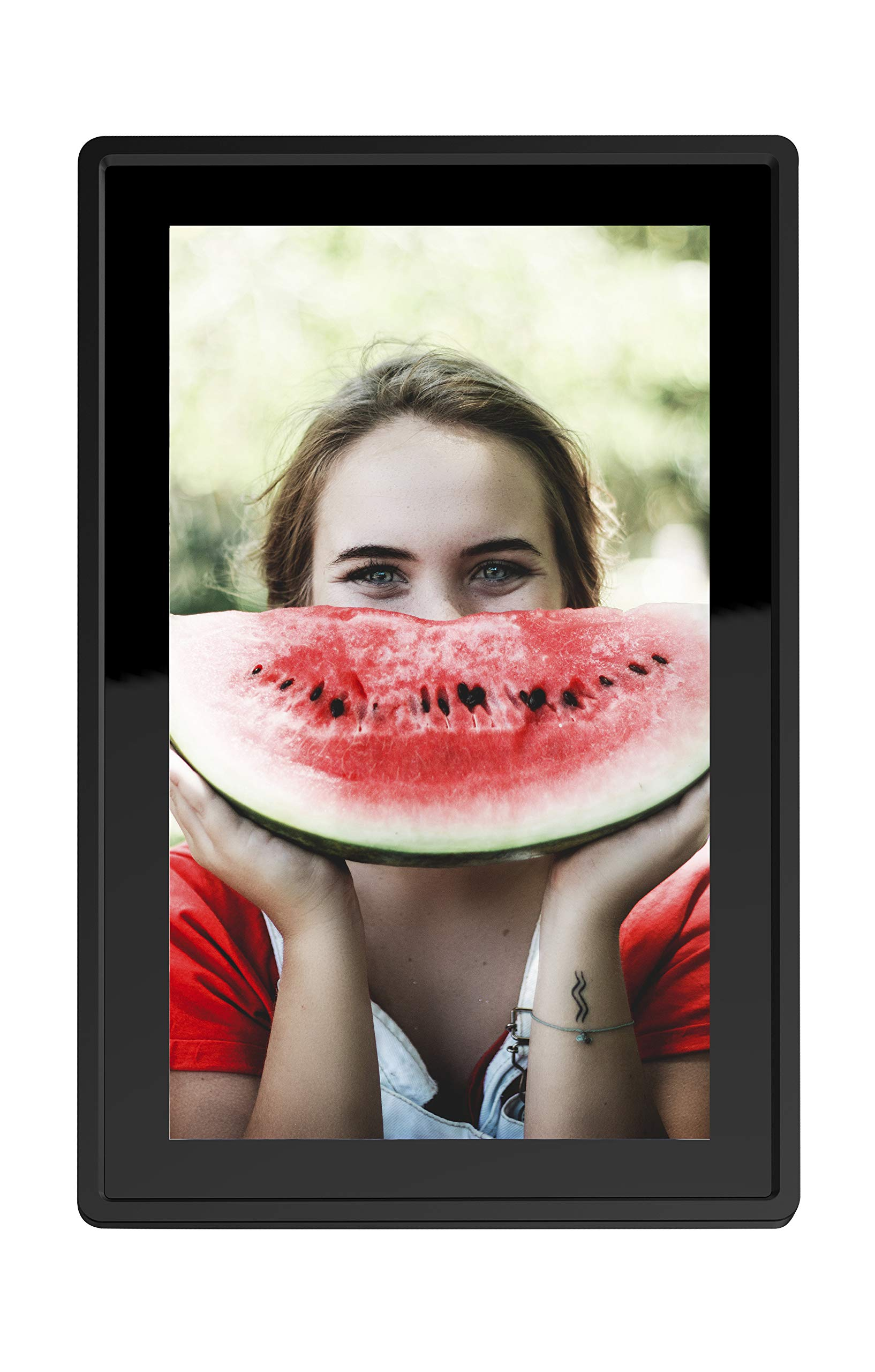 Feelcare 10 Inch 16GB Smart WiFi Digital Picture Frame, Send Photos from Anywhere in The World, Touch Screen, 800x1280 IPS LCD Panel, Wall-Mountable, Portrait and Landscape(Black) by Feelcare (Image #3)