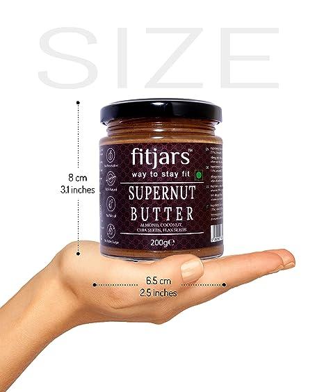Fitjars Supernut Butter Coconut/Almond / Chia/Flax-200g℮: Amazon.es: Alimentación y bebidas