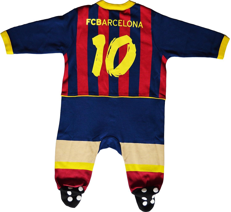 Pijama para bebé Barca - Lionel Messi - Colección Oficial FC Barcelona: Amazon.es: Deportes y aire libre
