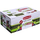 Rubbermaid 17.3 Cup FreshWorks Produce Saver, Large, Green - 2 Pack
