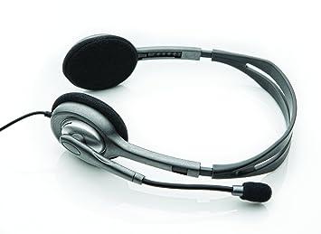 Logitech Stereo Headset H110 Cuffia dc8dbbf50a89