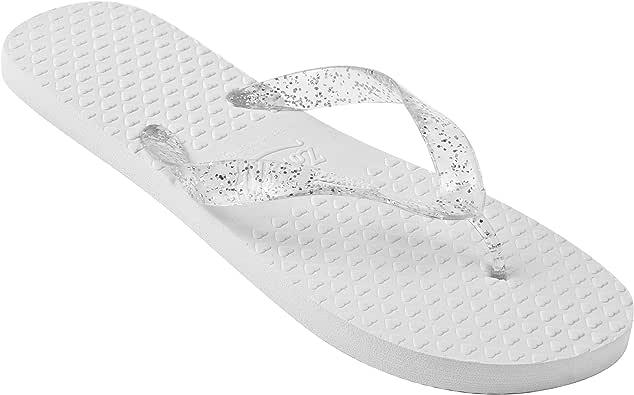 Zohula Chanclas Blancas de la Boda para la Compra a Granel - 40 Pares: Amazon.es: Zapatos y complementos