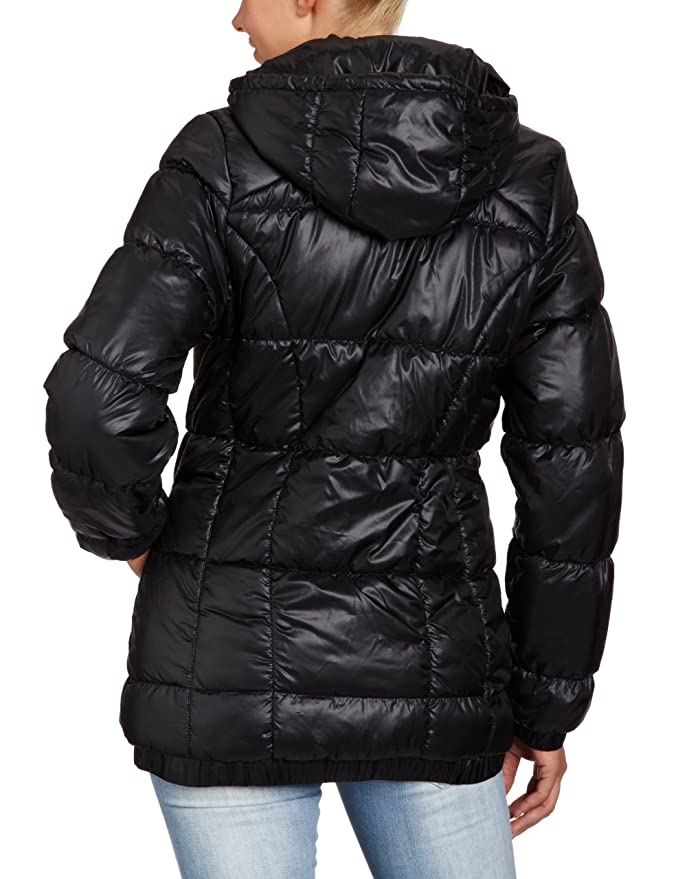 64385fecf93eb adidas AC Women's Winter Jacket Padded Solids, Womens, Winterjacke AC  Padded Solids, Black: Amazon.co.uk: Sports & Outdoors