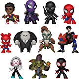Funko – Mystery Mini Blind Box Color Marvel: Spiderman Animated Color PDQ (CDU 12),, 34757