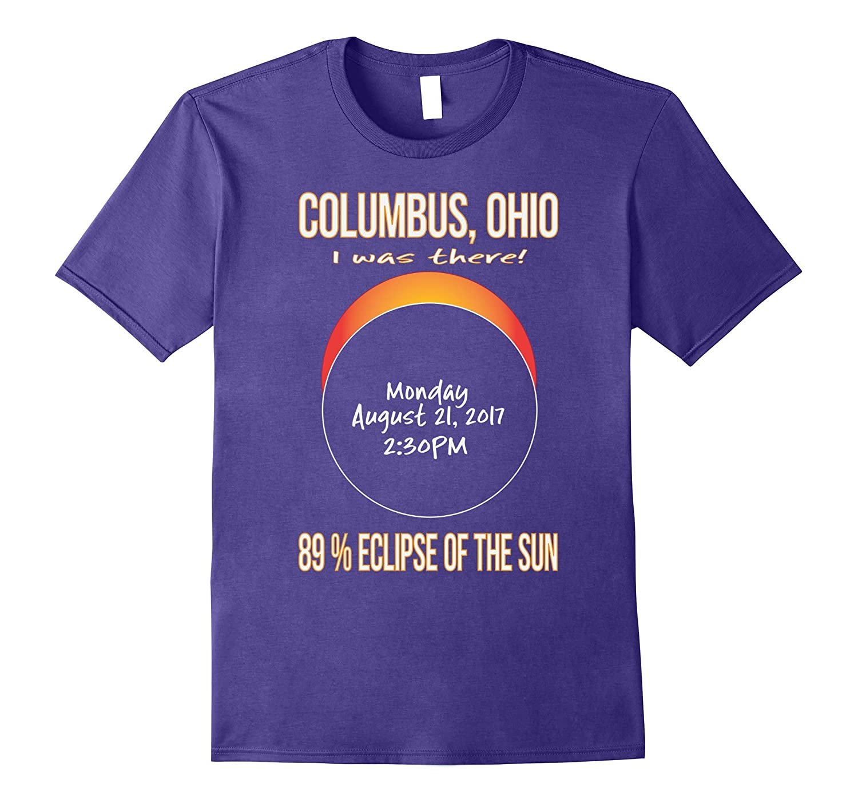 2017 Columbus, Ohio Eclipse Souvenir T Shirt-TH