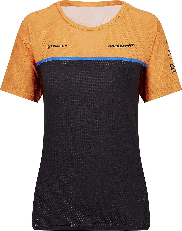 McLaren F1 2020 Womens Team Set Up T-Shirt Orange