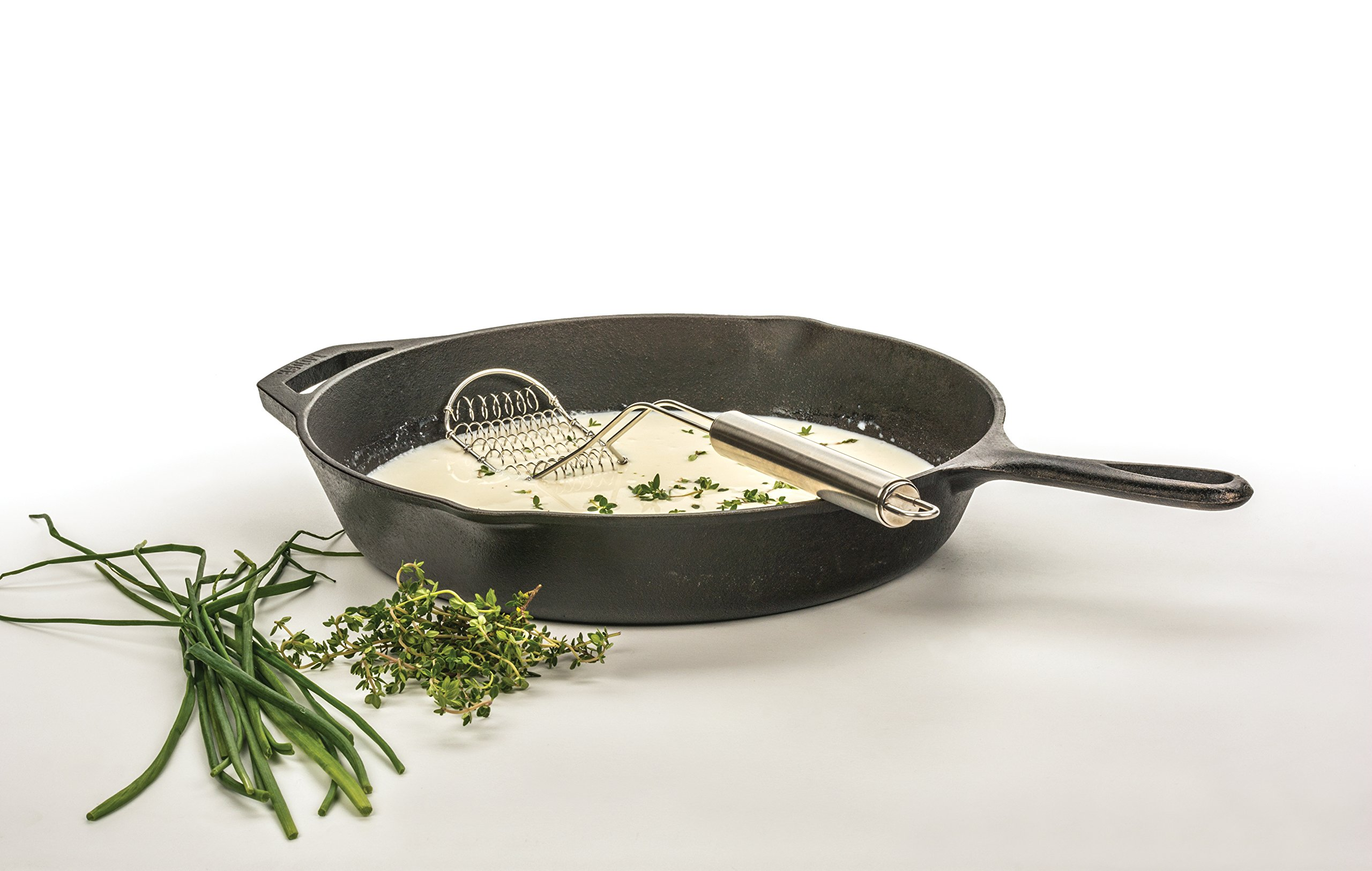 RSVP FSW-14 18/8 Stainless Steel Flat Sauce Whisk by the Everyday Gourmet by RSVP International (Image #2)