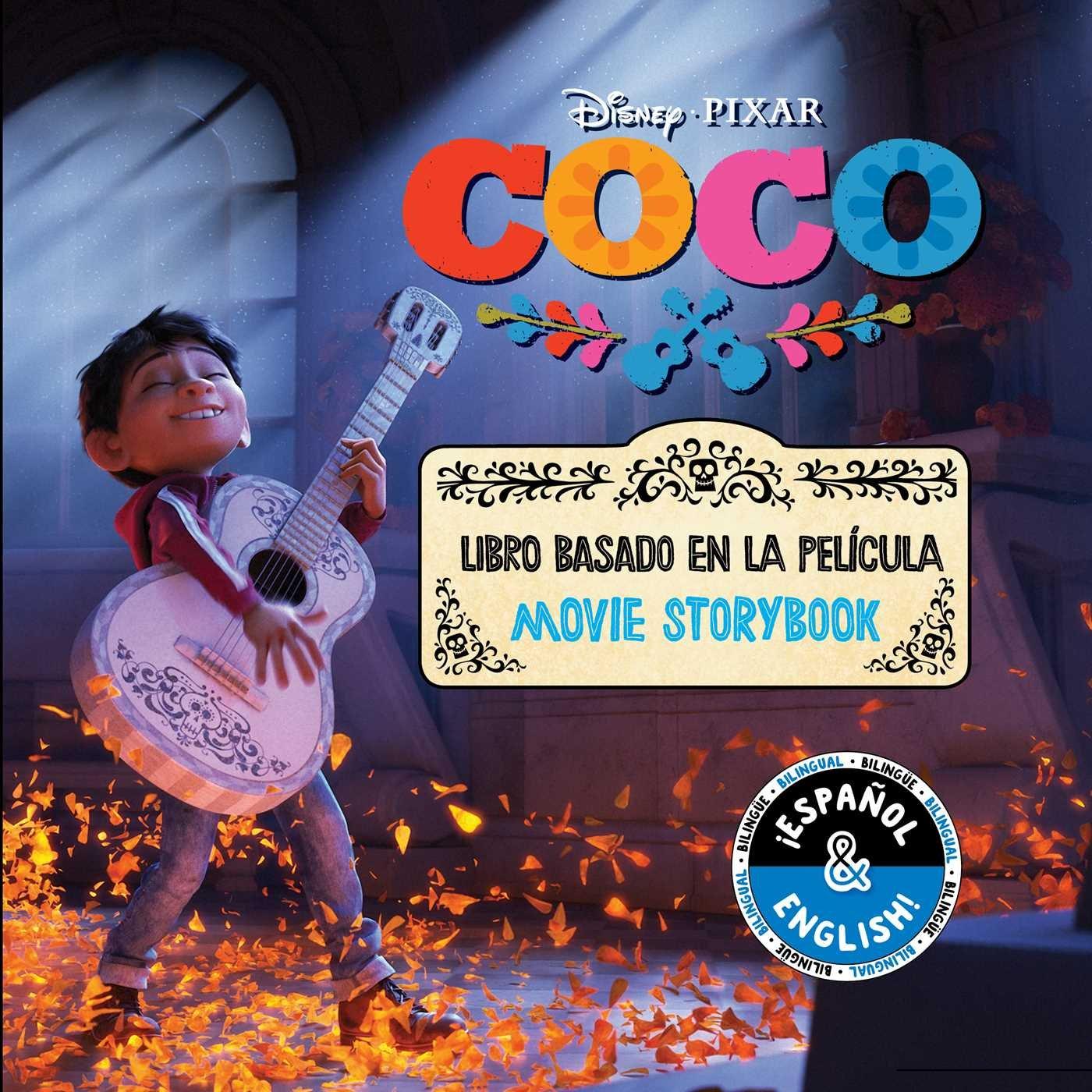 Disney/Pixar Coco: Movie Storybook/Libro Basado en la Película ...
