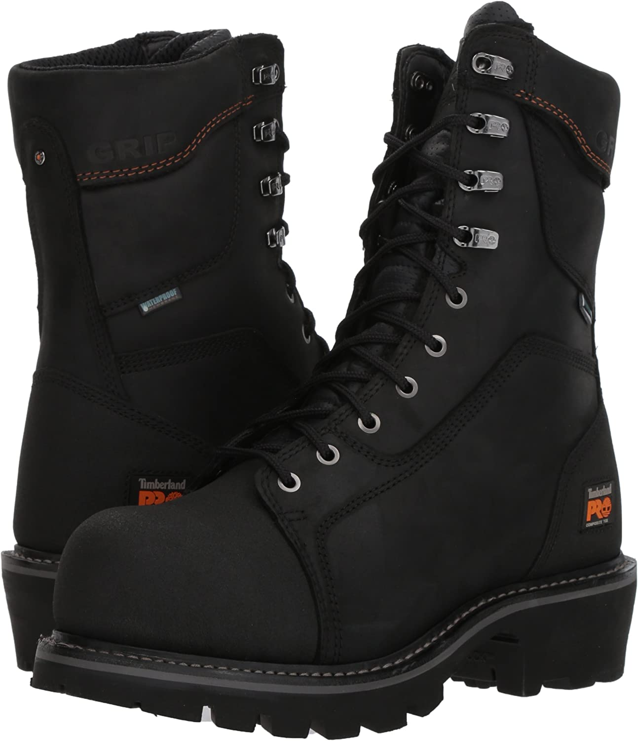 Timberland PRO Men's Rip Saw Composite Toe Logger Work Boot
