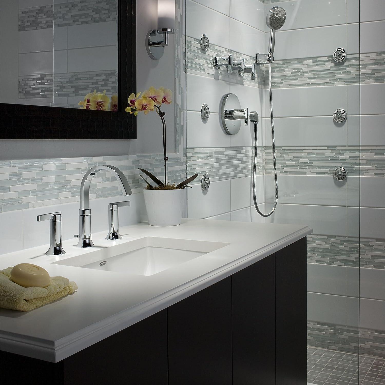 american standard t430501 002 berwick pb shower trim polished chrome