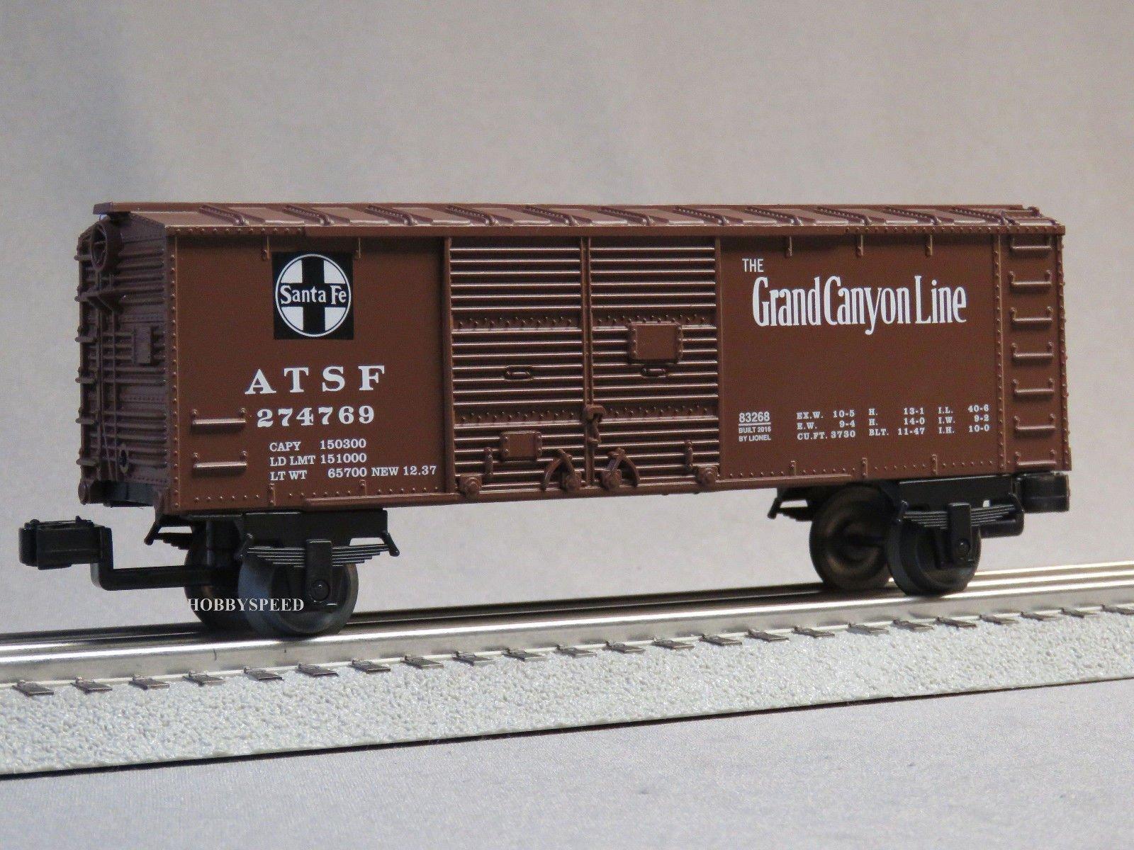 Lionel Junction Santa FE BOXCAR 6-83266 B O Gauge