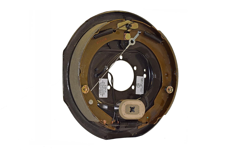 1224513 TRP 12 x 2 Electric Self-Adjusting Brake Backing Plate Passenger Side