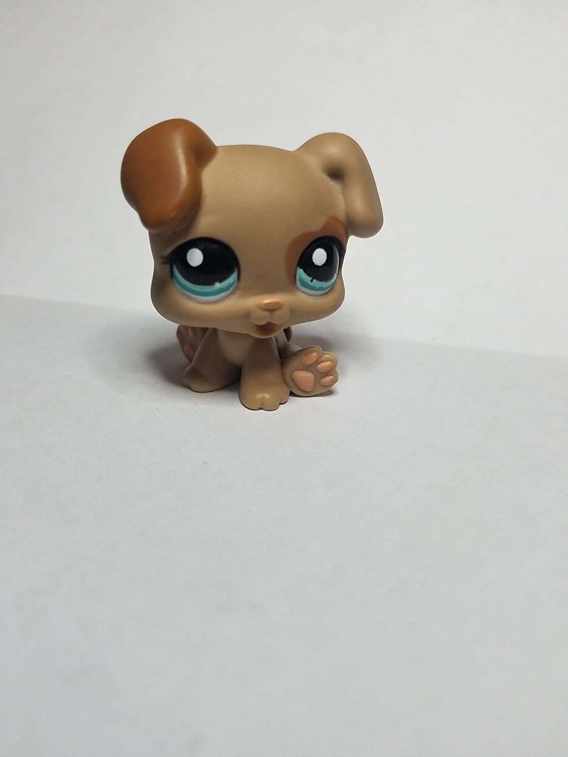 Puppy #1353 OOP Out of Package /& Print LPS Collectible Replacement Single Figure Collector Toy Retired Brown, Green Eyes Littlest Pet Shop Loose