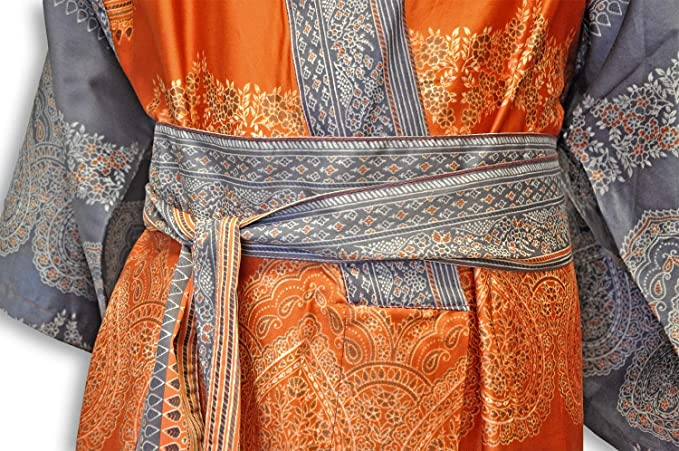 Taglia L-XL Bassetti Colore Arancione Kimono O1