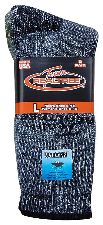 REALTREE Hombre 4-Pack ultra-dri wool-blend calcetines para botas; fabricado en EE. UU.: Amazon.es: Ropa y accesorios