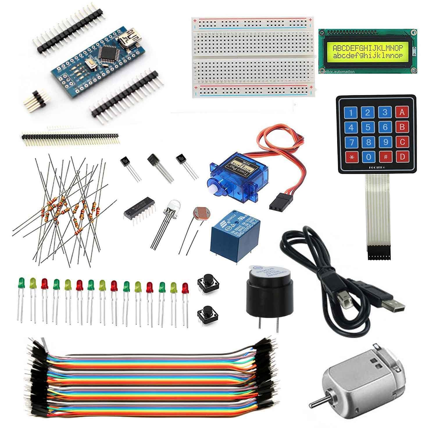 AdraXx New Electronic Components Project The Arduino Starter Kit-3