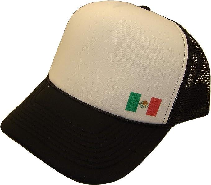 Bandera nacional de México de malla gorra de rejilla (talla única ...