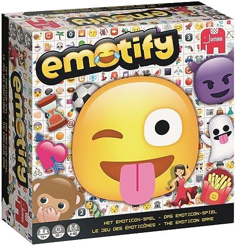 Jumbo Emotify Adultos Juegos de Preguntas - Juego de Tablero (Juegos de Preguntas, Adultos
