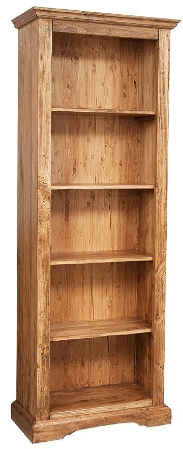 Biscottini Libreria Country in legno massello di tiglio ...
