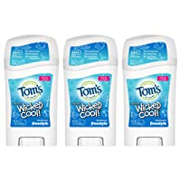 Tom's of Maine Aluminum-Free Wicked Cool! Natural Deodorant for Kids, Freestyle, 1.6 oz. 3-Pack