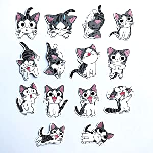 NTA 14Pcs/Lot Chi's Sweet Home Stickers Anime for Decal Snowboard Laptop Luggage Car Fridge Car- Styling Sticker Pegatina