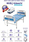 H(O2) Comfy Air Medical Grade Fabric Bed for Bedsores and Pain Relief (Blue, 6 x 3)