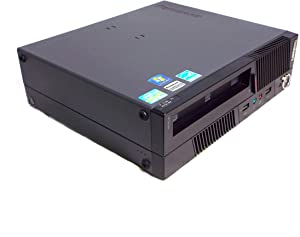 Lenovo ThinkCentre M91p USFF Desktop, Intel Core i5-2400s 2.50GHz, 4GB DDR3, 250GB HDD, Win-10Pro (Renewed)