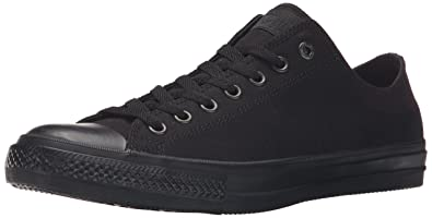 415fc97a4c52 Converse Unisex Adults Chuck Taylor All Star Low-top Sneakers - Black  Monochrome