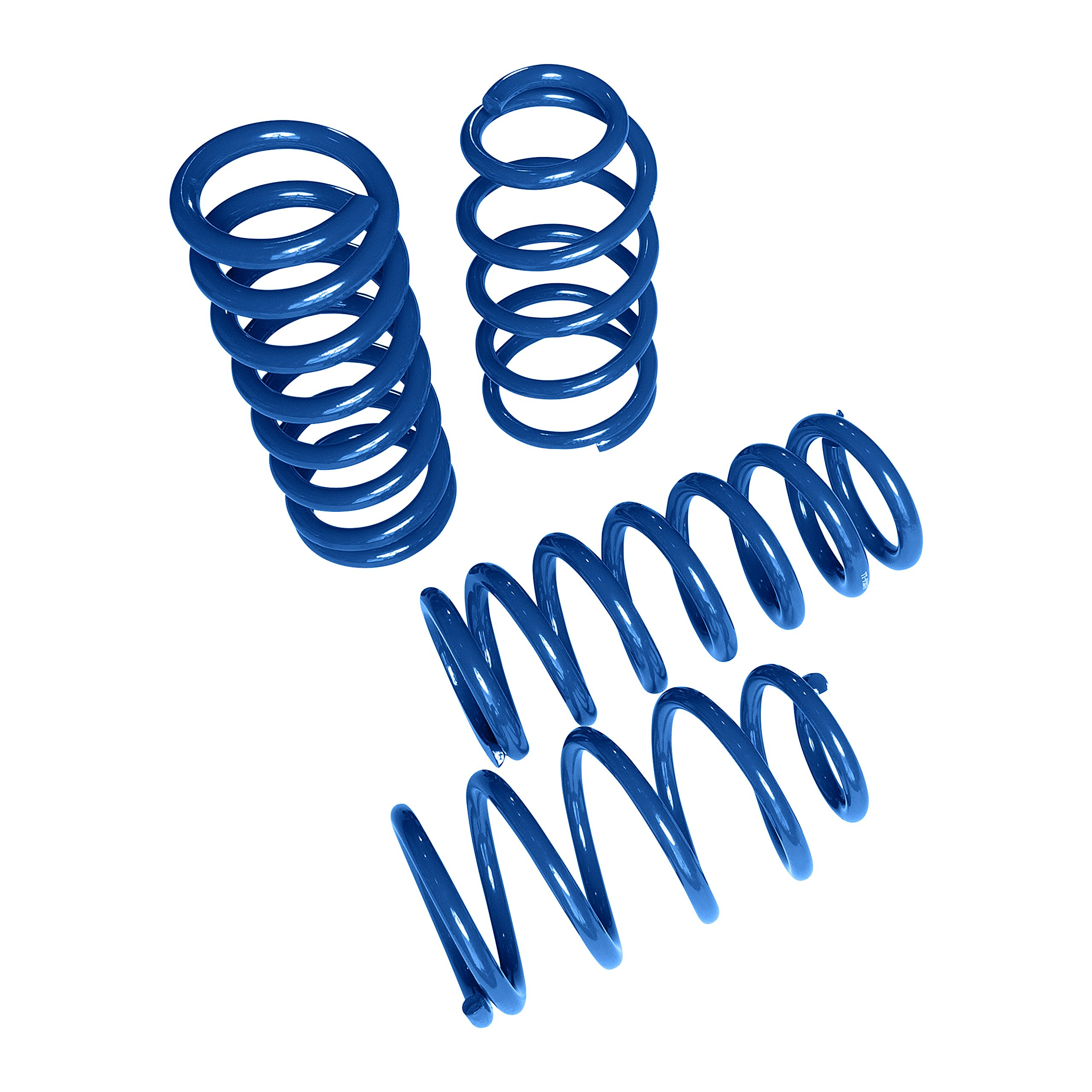 "Touring Tech Lowering Springs 1994-2004 Mustang 1.6""F/2.0""R Blue"