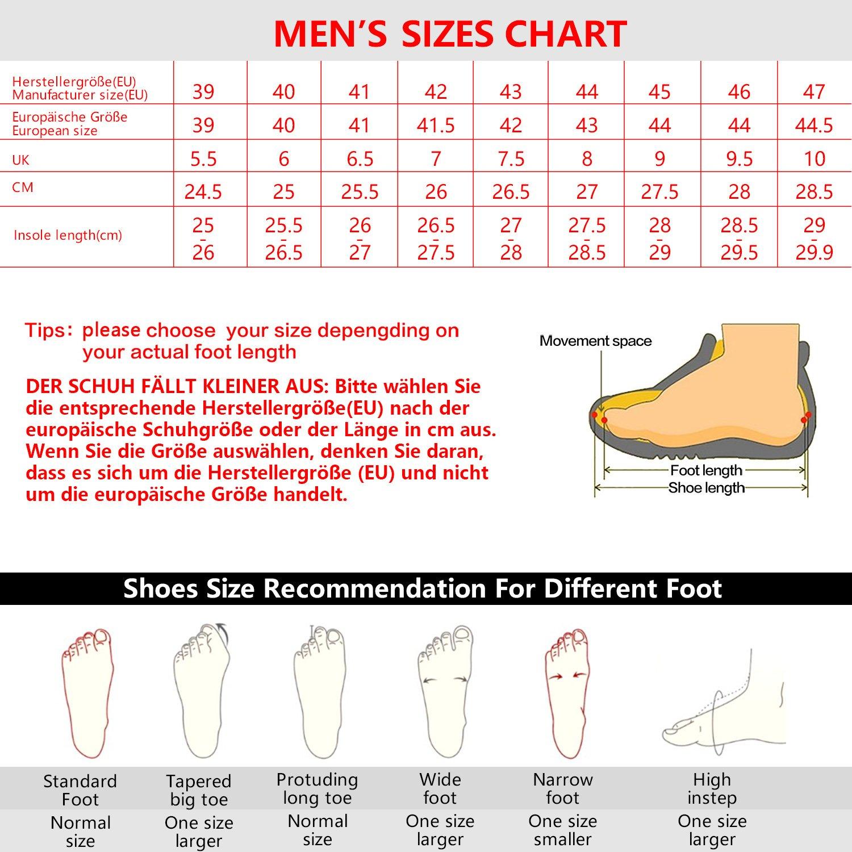 TFO Trekking Schuhe Herren/Damen WasserabWeißende und Atmungsaktive Wanderschuhe Braun mit Anti-Rutsch-Sohle (Hersteller-Größentabelle im Produktbild Beachten) Braun Wanderschuhe a2aa42