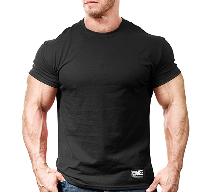 hot-selling premium selection shop Monsta Gym Wear Classic Workout T-Shirt Black