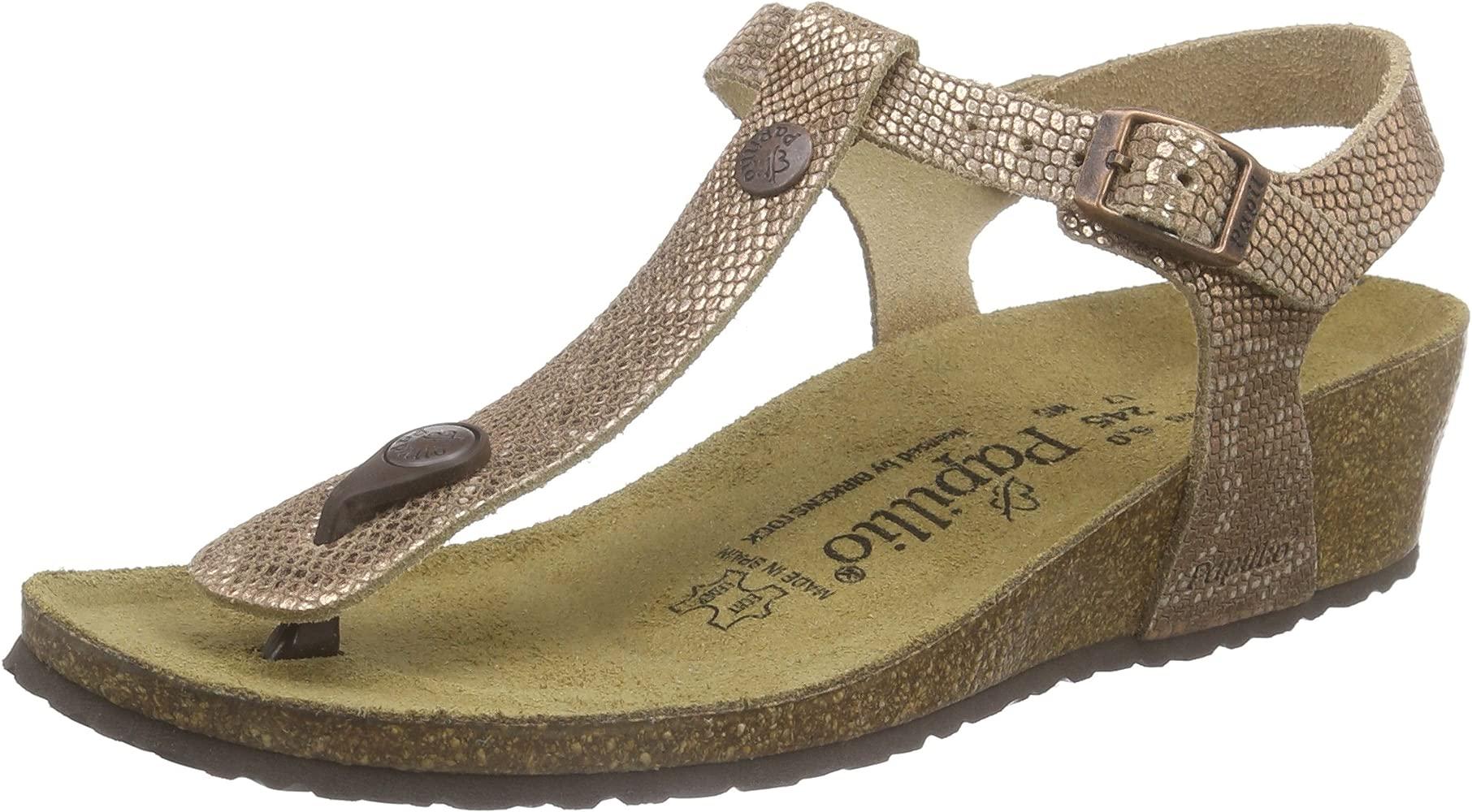 Ashley Leder, Women's Wedge Heel Ankle Strap Sandals