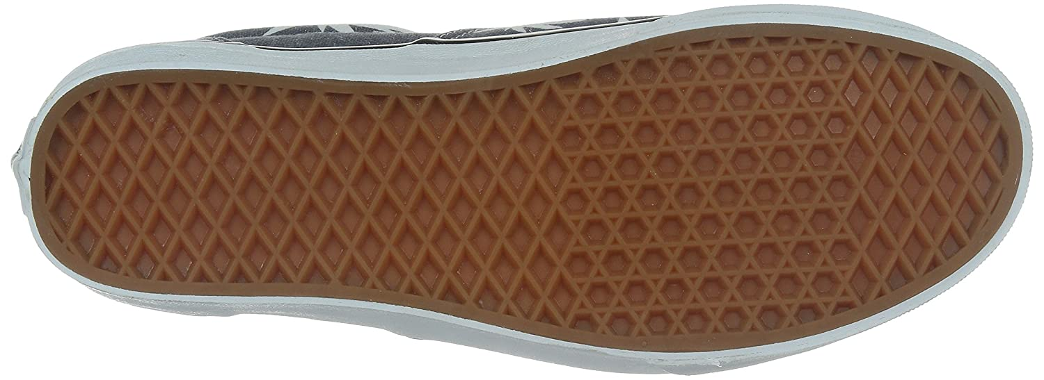Vans Unisex Era Skate Shoes, Classic Low-Top Lace-up Style in Durable Double-Stitched Canvas and Original Waffle Outsole B01I2B1Y1M 7 B(M) US Women / 5.5 D(M) US Men|Blue