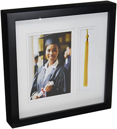 Amazon.com - Golden State Art, Graduation Shadow Box Frame with ...