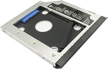 2nd Hard Drive Caddy for DELL Modular Bay E6520 E6530 E6420 E6430 E6320 E6330