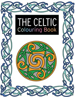 The Celtic Colouring Book Large And Small Projects To Enjoy Search Press Books