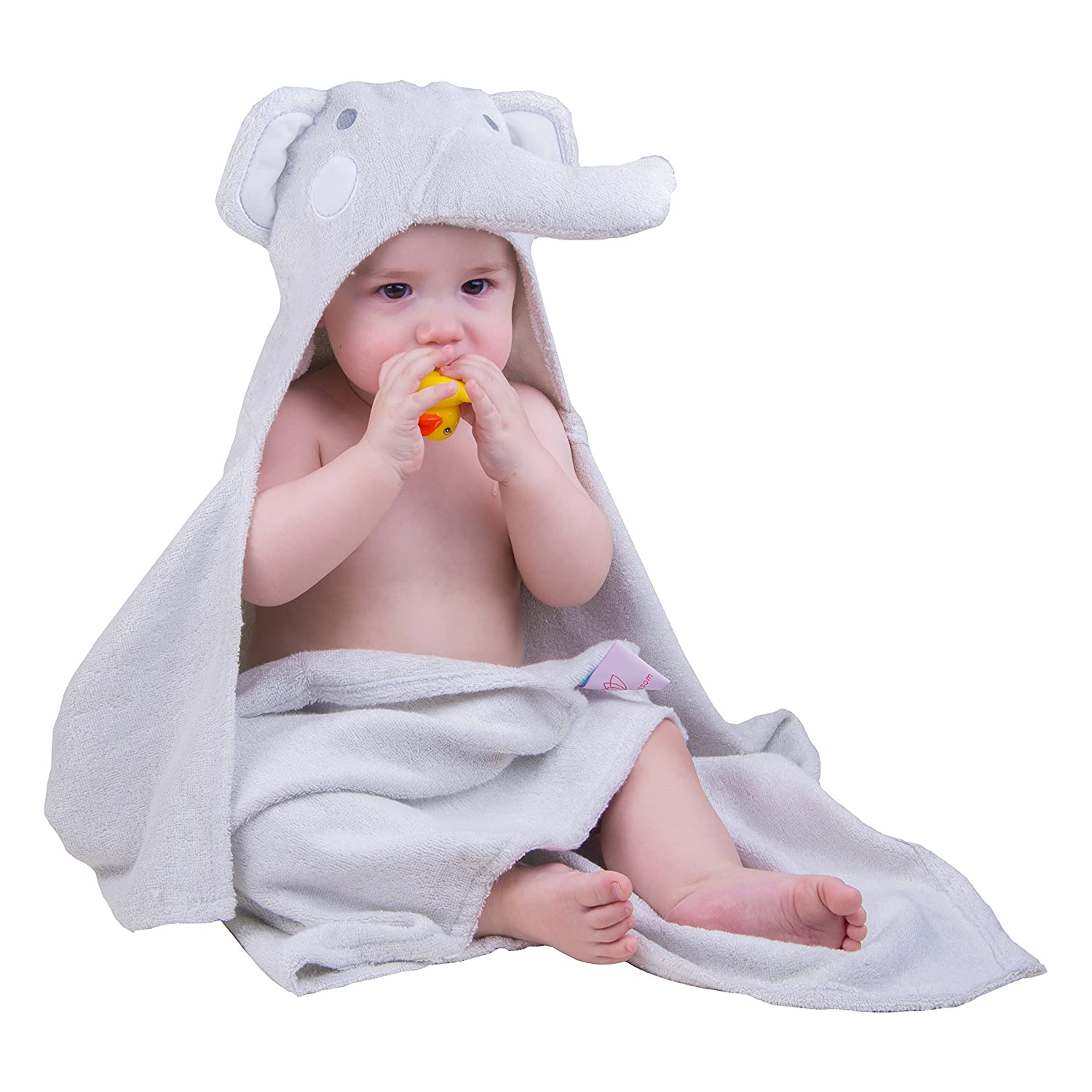 Absorbent 100/% Organic Bamboo Baby Hooded Towel Extra Large Hypoallergenic