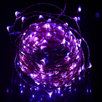 Amazon.com: HAHOME Waterproof Led String Lights,33Ft 100 LEDs ...