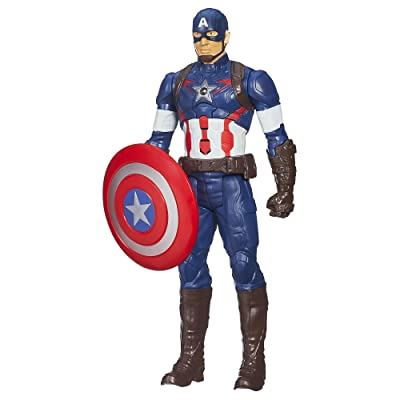 Marvel Avengers Age of Ultron Titan Hero Tech Captain America 12 Inch Figure: Toys & Games